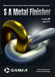 Advertise in S A Metal Finisher